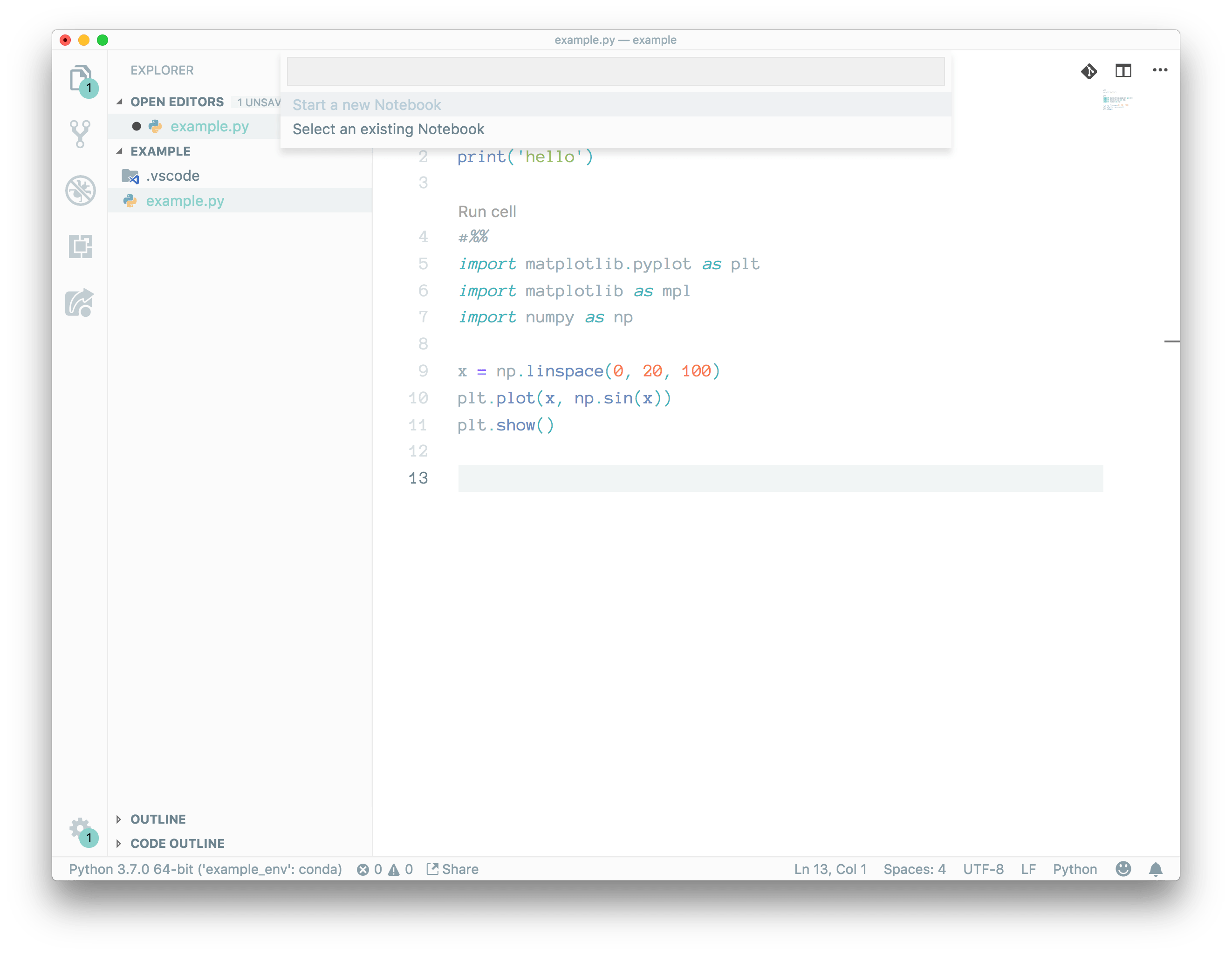 install jupyter plugin on vs code